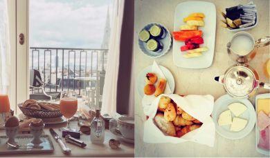 Завтраки супермоделей