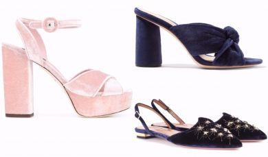 Бархатная обувь