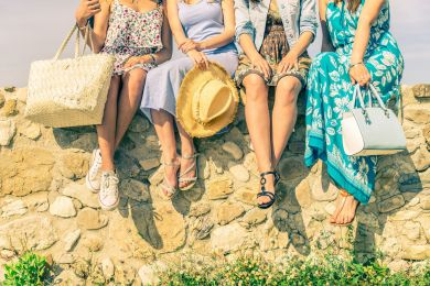 Девичий туризм: куда поехать на отдых с подружками в Украине