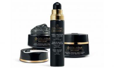 Новая линия для сияния и восстановления кожи Sublime Black от Collistar