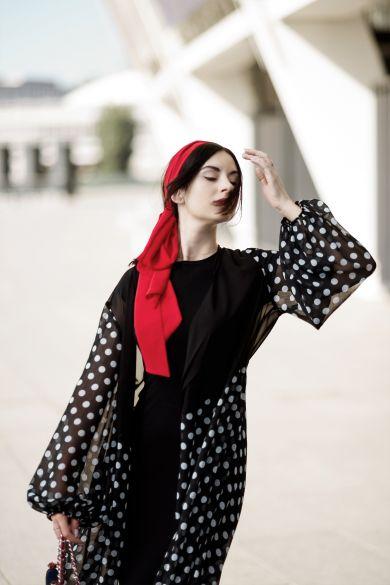 Колонка fashion-блогера: как стильно носить принт горох