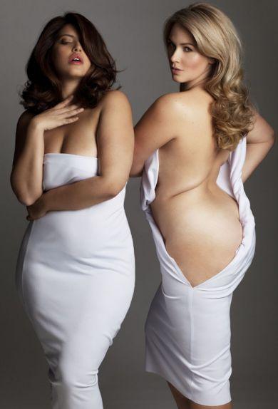 Обнаженные модели plus-size вдохновляют любить свое тело