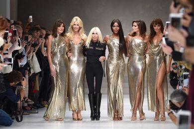 Показ Versace