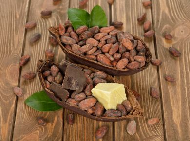 польза масла какао для лица и волос
