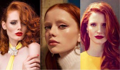 Оттенки рыжего: как подобрать крутое рыжее окрашивание волос