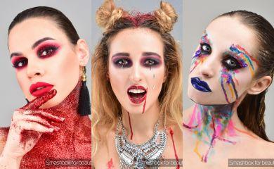 Вампир, нимфа, ведьма: редакция Beauty.ua шокирует вас своим преображением на Хэллоуин