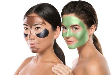 цветные маски для лица