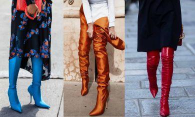 модные сапоги зима 2017