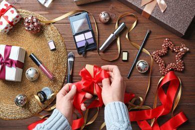 Рождественская коллекция макияжа