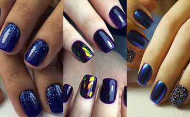 Космический маникюр: галактика на твоих ногтях