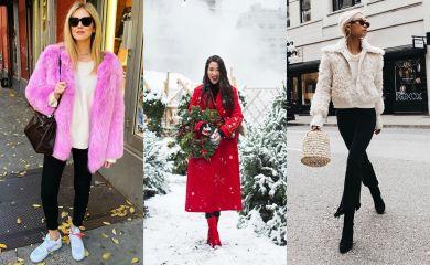 Блогеры зима