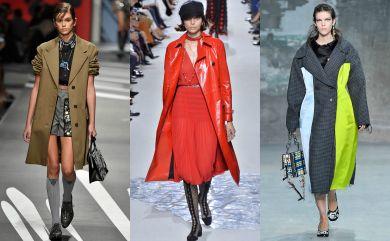 стильные пальто на весну 2018