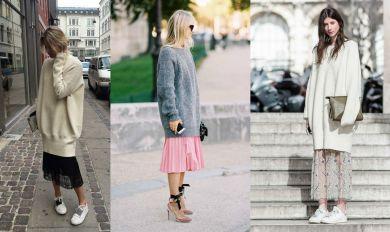Советы стилиста: Как и с чем сочетать свитер oversize
