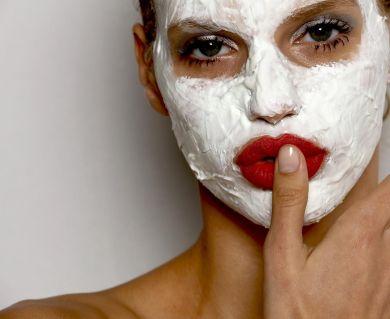 молочная маска для лица