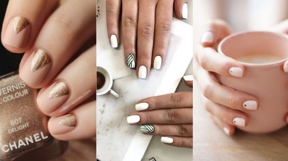3371_max Красивый маникюр на короткие ногти 2019-2020: фото идеи маникюра на короткие ногти