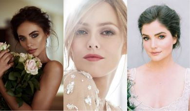 5 крутых идей на свадебный макияж 2019