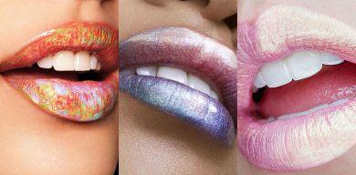 Голографические губы