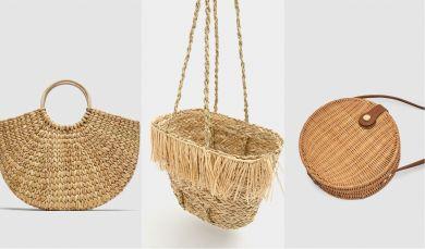 Соломенные сумки