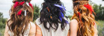 Снимаем шляпу: правила ухода за окрашенными волосами летом