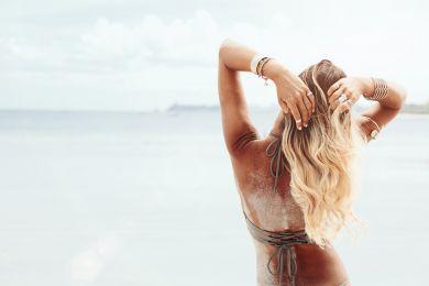 Волосы лето