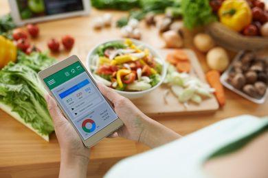 приложение для подчсета калорий