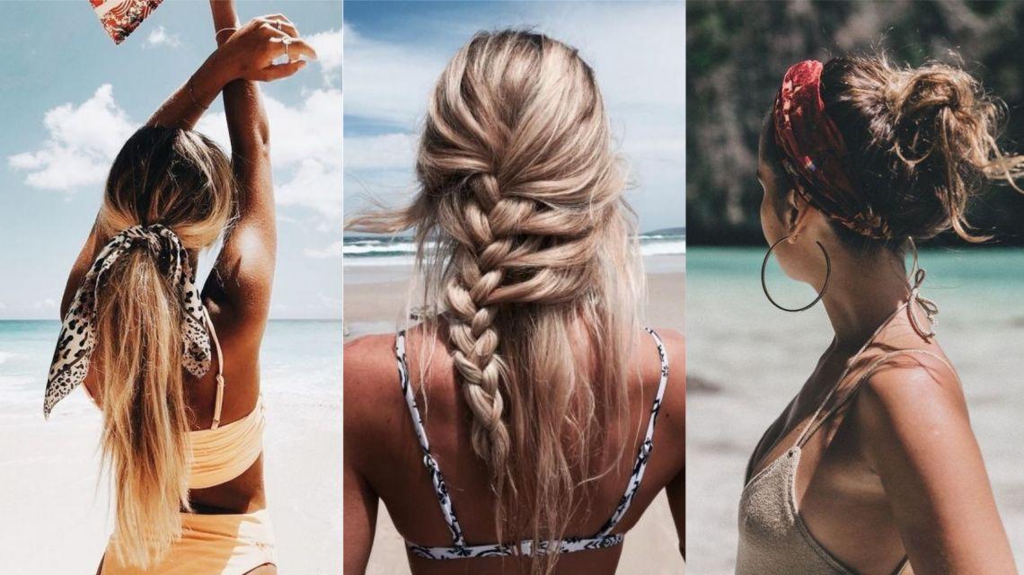 Прически для пляжа на длинные волосы фото