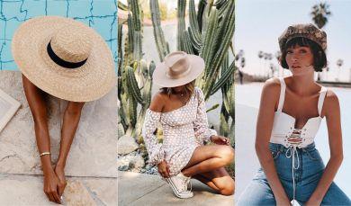 Шляпы лето 2018