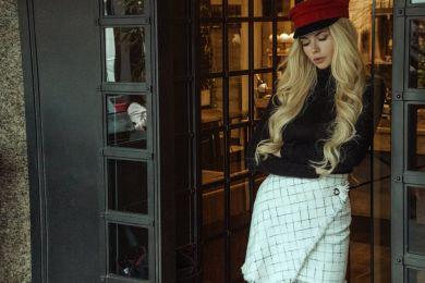 Стильная женственность: Анна Романова в осенних образах от One by One