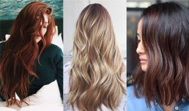 Цвет волос зима