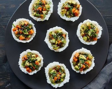cup sushi