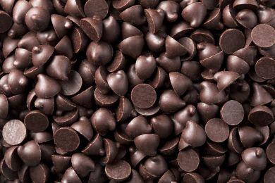 Полезный черный шоколад в каплях