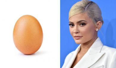 Яйцо и Кайли Дженнер