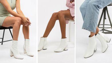 Белая обувь на весну