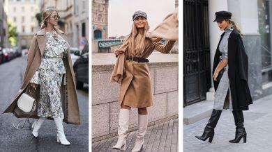 Сапоги-трубы: с чем носить модный обувной тренд 2019