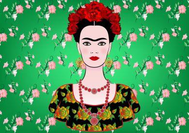 Фрида Кало рисунок