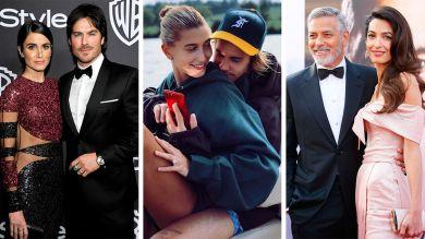 Звездные пары, которые быстро поженились