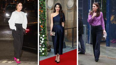 Кейт Миддлтон, Виктория Бекхэм, Амаль Клуни и другие самые стильные звезды недели