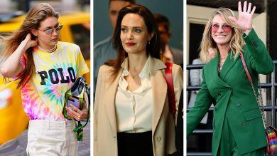 Джулия Робертс, Анджелина Джоли, Джиджи Хадид и другие самые стильные звезды недели