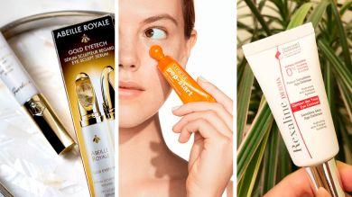 Три крема для ухода за кожей вокруг глаз