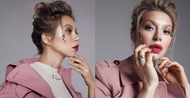 Косметичка звезды: Полина Логунова показывает свои любимые beauty-продукты