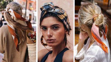 Платки и шарфы для волос
