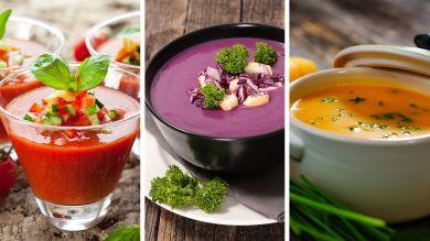 Три овощных супа для похудения