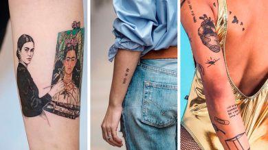 Три татуировки для девушек