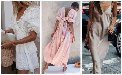 платья лето 2019