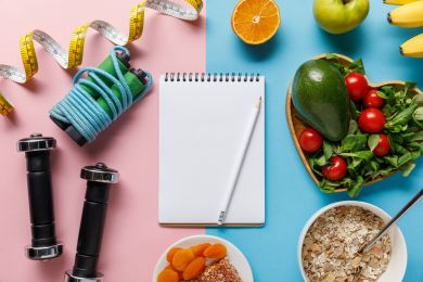 диета против упражнений