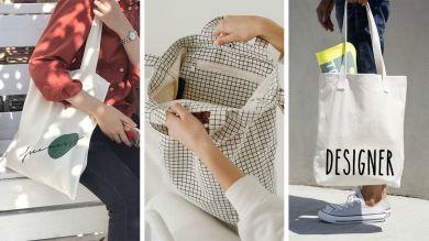 Модные эко сумки 2019