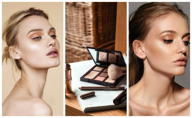 макияж для сужения пор