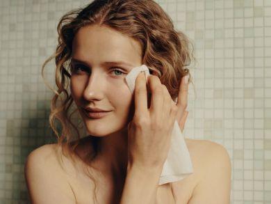 Сухие салфетки для снятия макияжа
