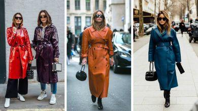 Модные осенние плащи 2019