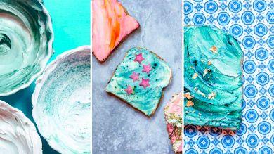 Рецепт приготовления русалочьего тоста